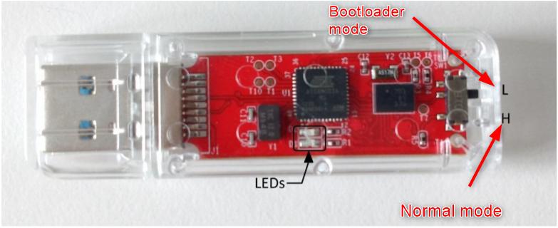 BNO055 USB Stick